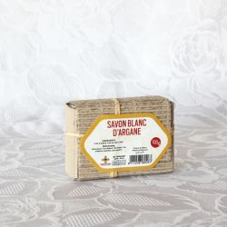 Savon blanc à l'argan 100g