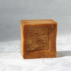Savon d'Alep, 40% huile de baies de laurier, pain de 200g