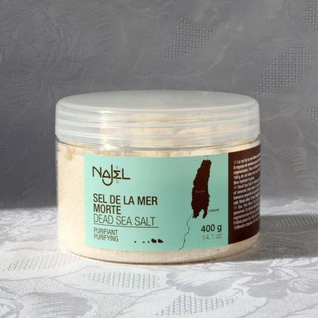 Sels de la Mer Morte, exfoliants, pot de 400 g