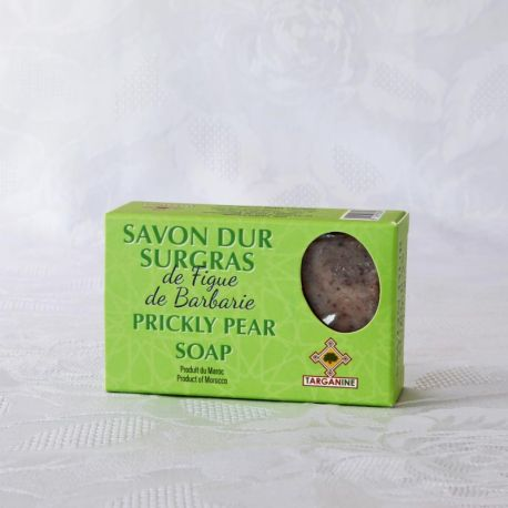 Savon naturel à l'huile de graines de figue de Barbarie bio, saponifié à froid