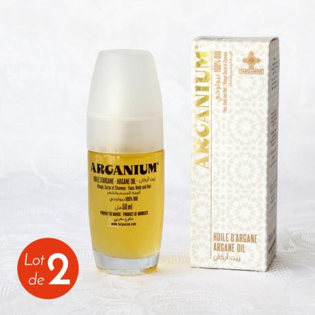 Huile d'argan bio Arganium vaporisateur 50 ml, présentation
