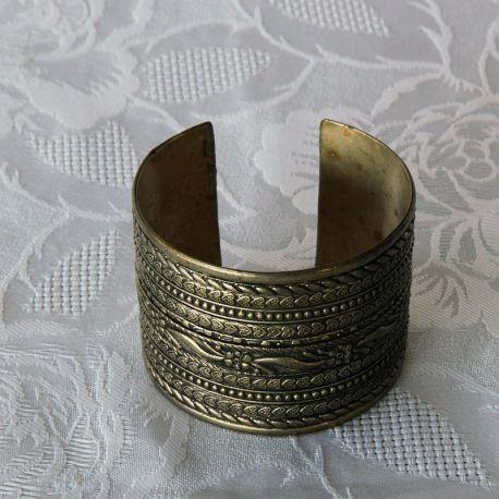 Bracelet large métal