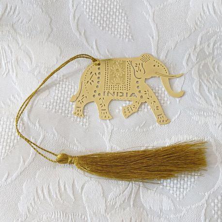 Marque-page éléphant