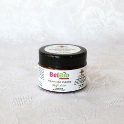 Gommage visage, aloe vera et huile d'argan bio, 100 g