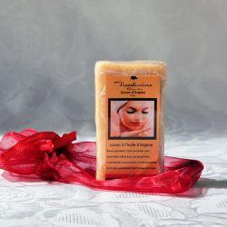 Savon blanc à l'argan (ou argane) 100g