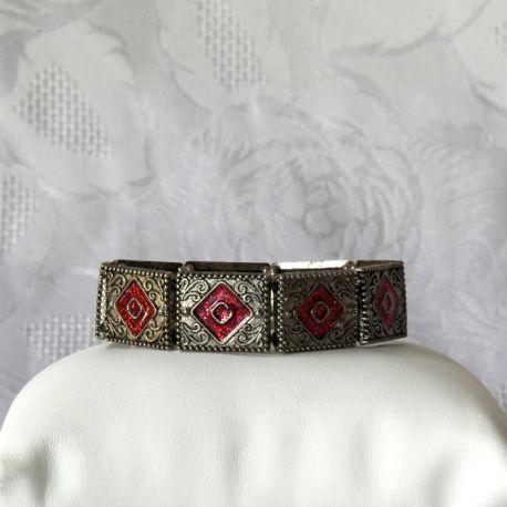 Bracelet métal fantaisie