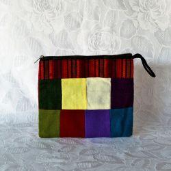 Pochette en tissu, motif Andin