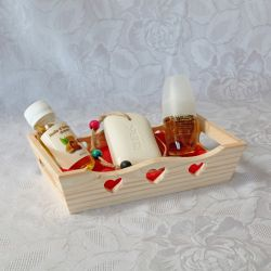 Coffret huile de figue de barbarie, amande douce et savon