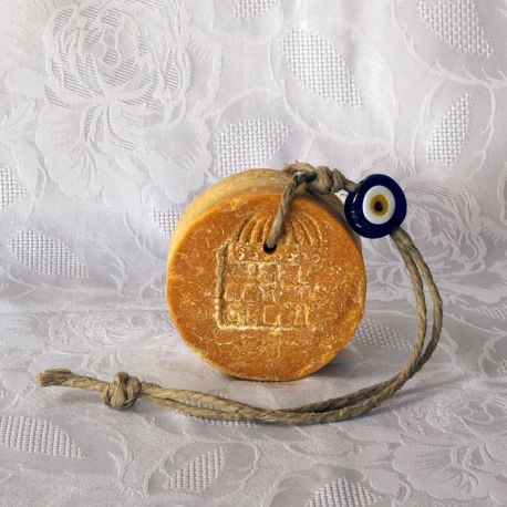 Savon bittim orange - Nazar boncuk bleu